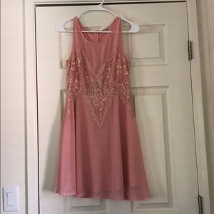 Charlotte Russe Blush Dress